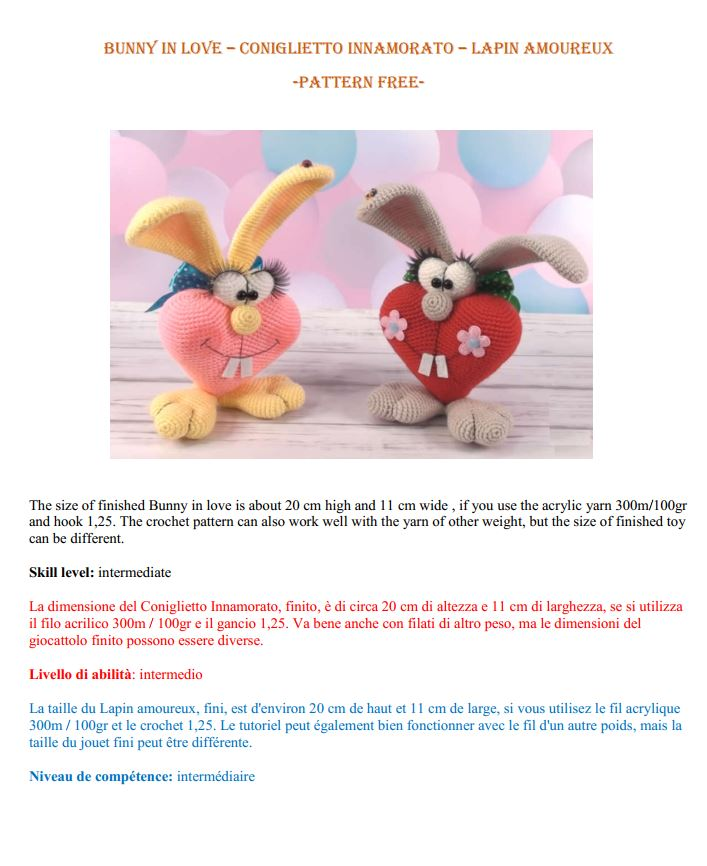 Crochet Heart. Free Pattern! - Airali | 866x707