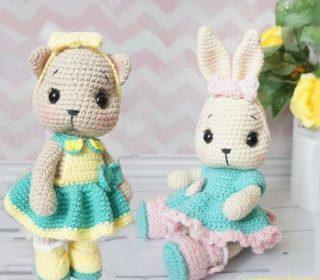 Cube Kitty Cat Crochet Amigurumi Free Pattern - #Amigurumi; #Cat ... | 280x320