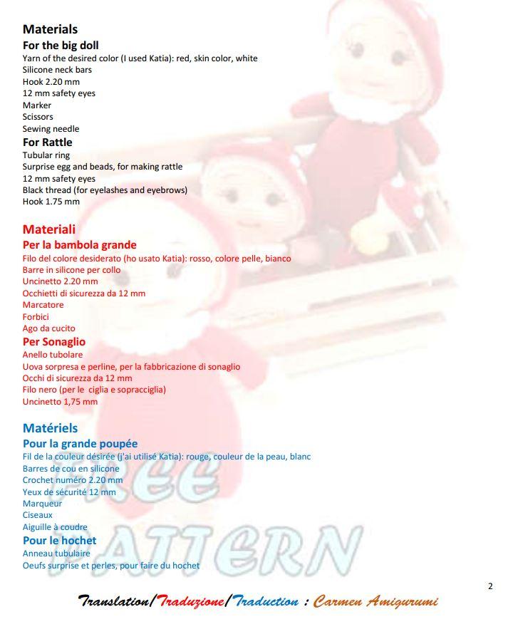 Amigurumi mouton pour hochet, doudou et mobile – Thali Créations   904x720